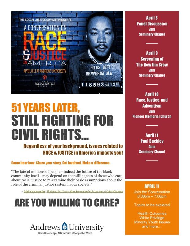 Race & Justice Flyer